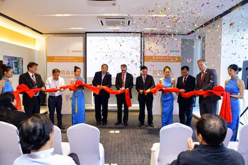 Sartorius Opens New Application Center in Shanghai