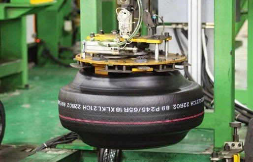 Weighing Technology from HBM takes central role in monitoring of tires production