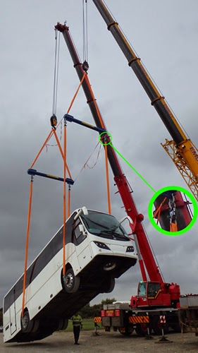 Telemetry Lift Link Load Cells from Applied Measurements Tip the Scales for Plaxton Bus