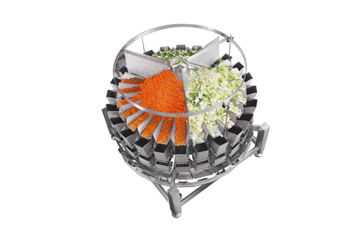 WeighPack introduced the New 24 Head PrimoCombi Multi-Head Weigher for blending and mixing applications