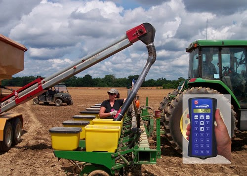 Intercomp's Wireless Seed Tender System with Handheld Controller Combines Wireless Weighing and Function Control All in One