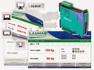 LAUMAS' New Web Server Master for Indicators and Transmitters