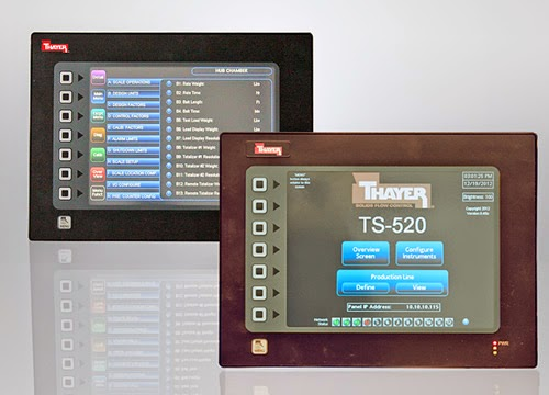 Thayer Scale's new Model TS-520 Multi-Weigh Feeder Operator Interface Terminal