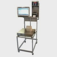 LabTouch - PC Touch Weighing and Labeling Mobile Station from Odeca